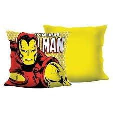 Almofada  Iron Man, Homem de Ferro Pop Art 40x40cm