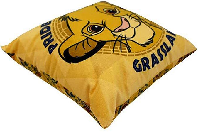 Almofada Aveludada 25cm O Rei Leão - Simba