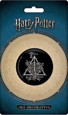 Imã Decorativo Bottom Harry Potter - Icones Reliquias da Morte
