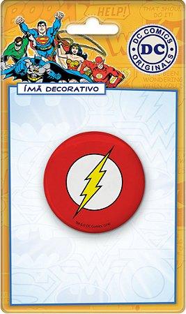 Imã Decorativo Bottom DC Comics - Escudo Flash