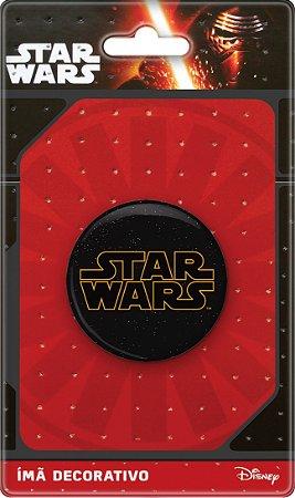 Imã Decorativo Bottom Star Wars - Logo