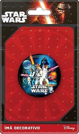 Imã Decorativo Bottom Star Wars - Poster