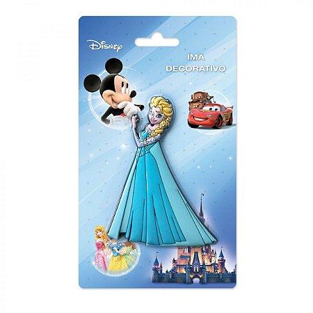 Imã Decorativo Relevo Disney - Elsa Frozen