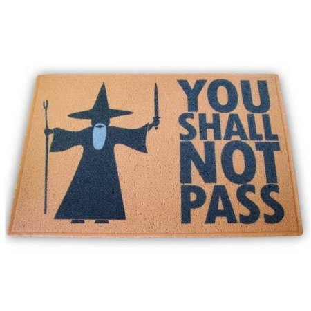 Capacho You Shall Not Pass