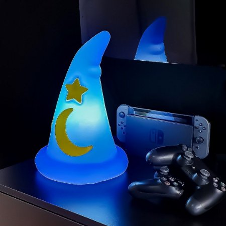 Luminária Decorativa Bivolt Disney - Chapéu Fantasia Mickey