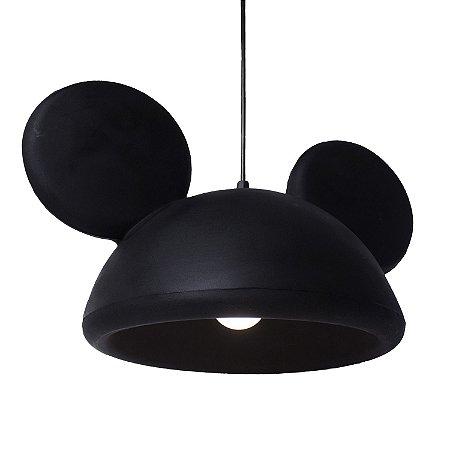 Luminária Decorativa Bivolt Pendente Disney Orelhas Mickey