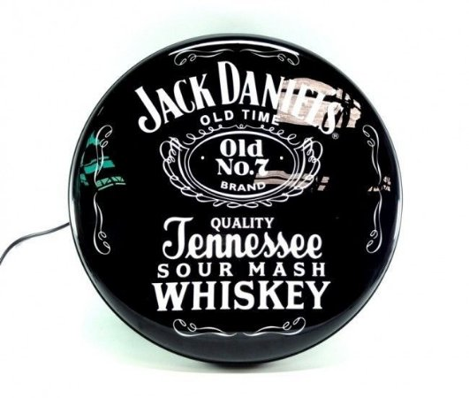 Luminoso de Parede Jack Daniels Logo 40cm