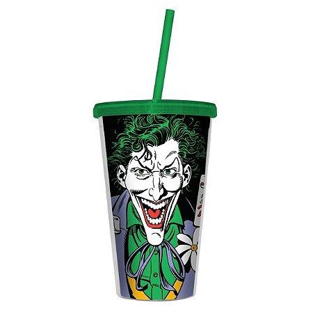 Copo Canudo Coringa, Joker - DC Comics