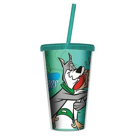 Copo Canudo Os Jetsons - Hanna Barbera