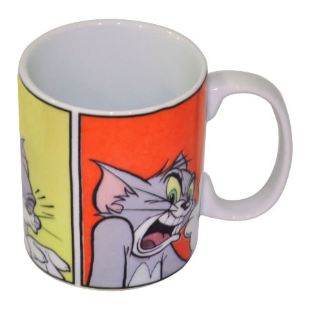 Caneca Porcelana Tom & Jerry - Hanna Barbera