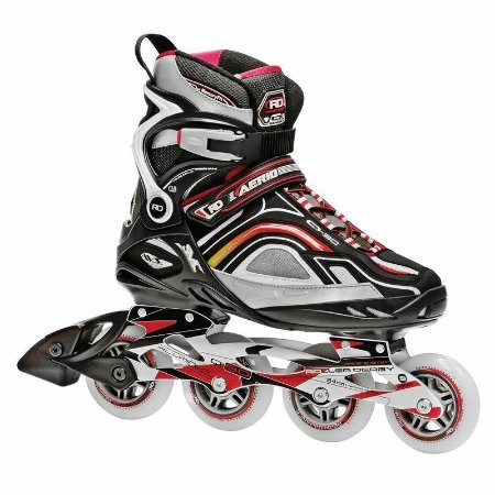PATINS INLINE ROLLER DERBY AERIO Q-90 RED