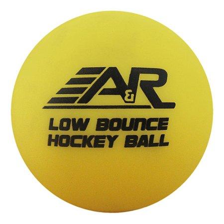 Bola Para Street Hockey A&R - Amarela