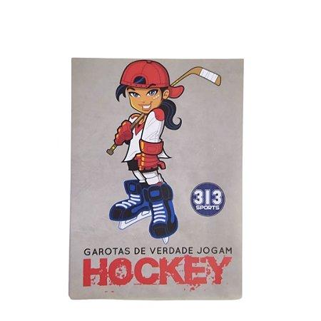 ADESIVO - GAROTAS JOGAM HOCKEY