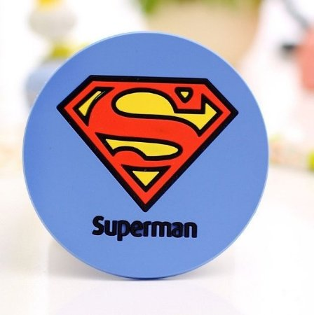 Porta Copos Silicone Super-Heróis Superman (2 unidades)