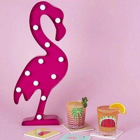 Luminária Flamingo LED 30cm