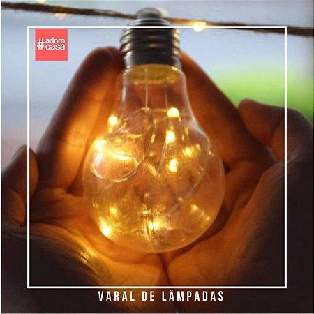 Varal lâmpadas LED