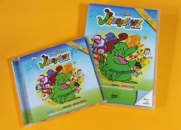 Combo DVD + CD do Jacarelvis e Amigos (Vol-01)