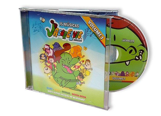 CD do Jacarelvis e Amigos - Vol. 01