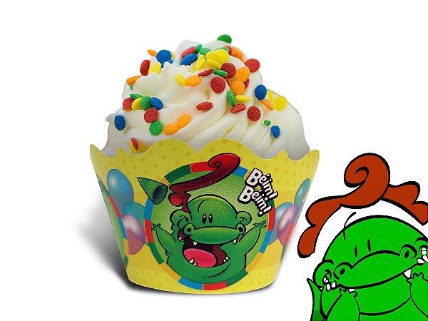 Saia de Cupcake do Jacarelvis