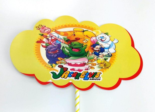 Adereço Para Festa de Aniversário do Jacarelvis