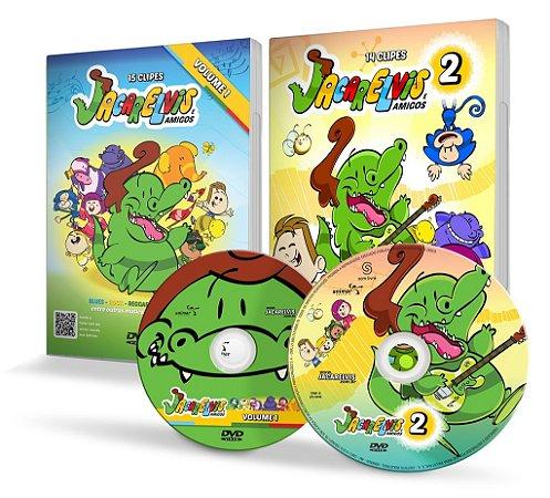 COMBO DVDs JACARELVIS 1 e 2!