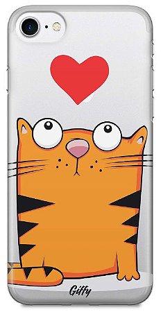 Capinha para iPhone 7 Plus - Gato