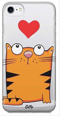 Capinha para iPhone X - Gato