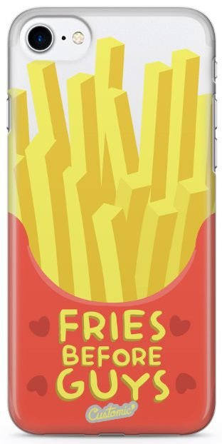 Capinha para iPhone 8 - Fries before guys