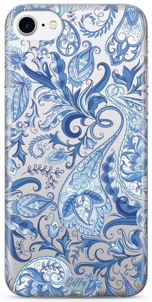 Capinha para iPhone 8 Plus - Alpinia Blue
