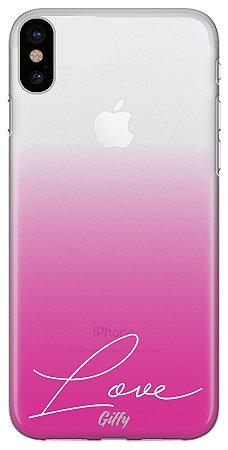 Capa para iPhone XR - Pink Love