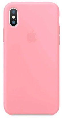 Capinha Feminina para iPhone X - Silicone Case Rosa