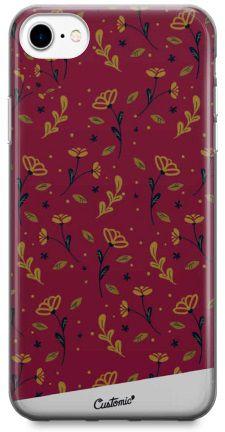 Capinha para iPhone 5S/SE - Feminina - Golden Roses