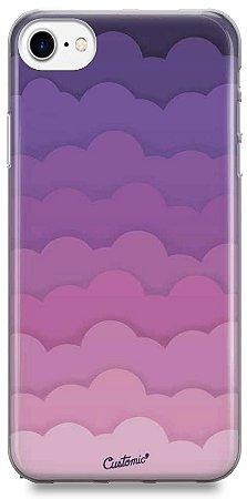 Capinha para iPhone 8 - Feminina - Pink Clouds