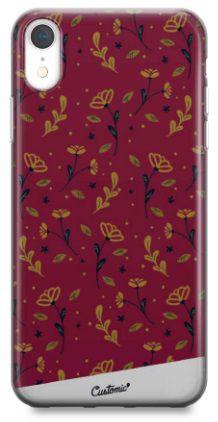 Capinha para iPhone X / Xs - Feminina - Golden Roses