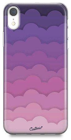 Capinha para iPhone Xs Max - Feminina - Pink Clouds