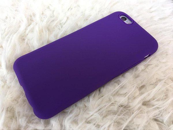 Capinha para iPhone 6s - Silicone Flexível - Azul Escuro