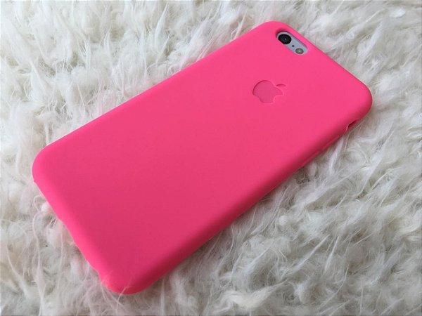 Capinha para iPhone 6s - Silicone Flexível Pink