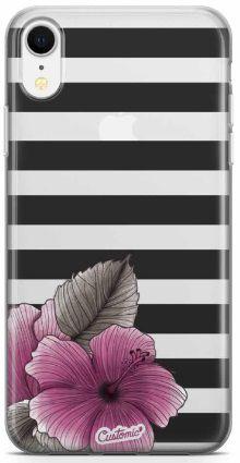 Capinha para iPhone - Feminina - Striped Garden