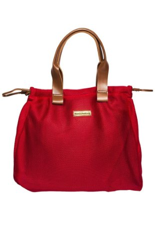 Bolsa de tecido especial vermelha Marina