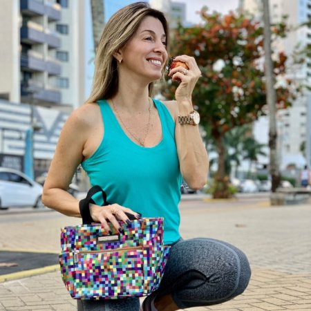 Bolsa termica estampa digital fit