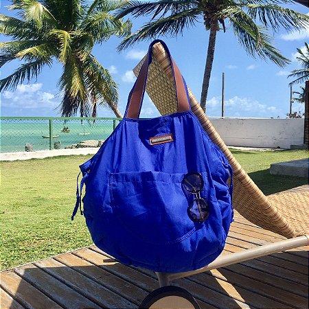 Bolsa grande Azul de nylon Bel