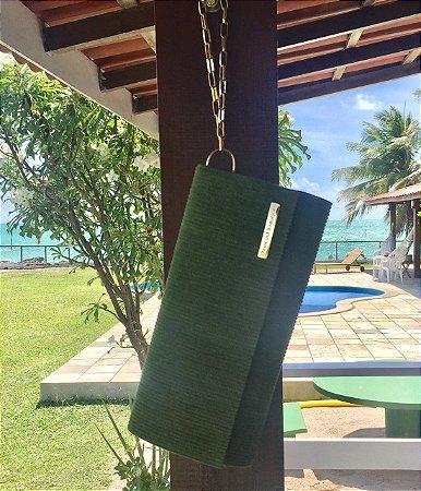 Carteira de tecido Verde Berloque