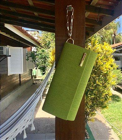 Clutch verde limão Berloque