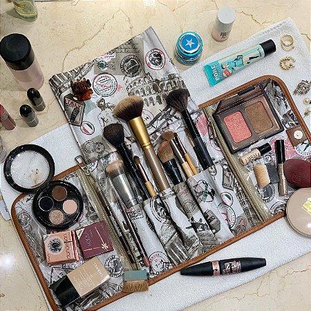 Porta Maquiagem Viagem