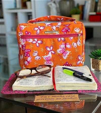 Bíblia Tamanho G - Borboletas laranja