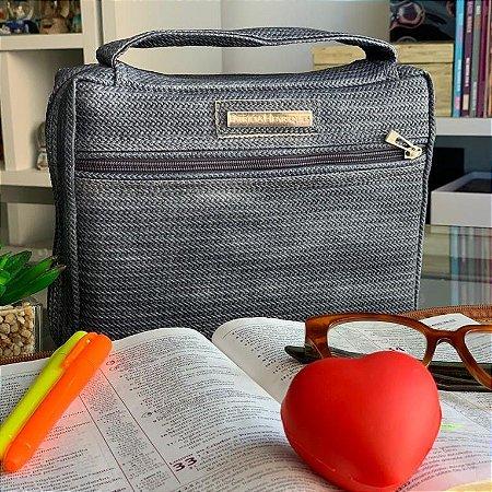 Bolsa para Bíblia Tie Dye Azul