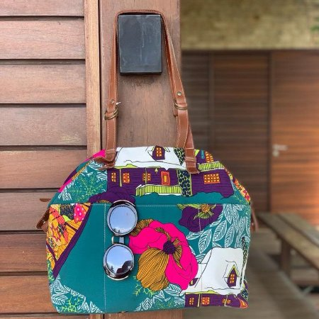 Bolsa Estampa colorida  Mundi