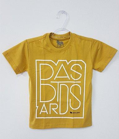 Camiseta Infantil - Mostarda
