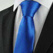 Gravata Azul Royal