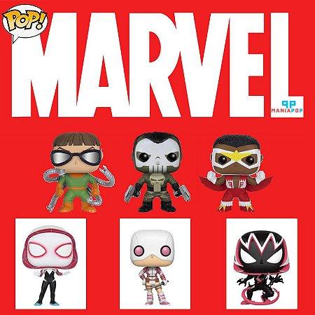 Funko Pop - Personagens Marvel - Vendidos Separadamente